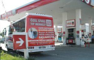 Otobüs Arkası Reklamları