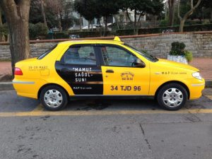 Antalya Taksi reklamları