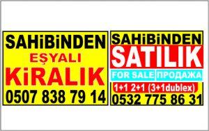 Emlak Afişi Pankart